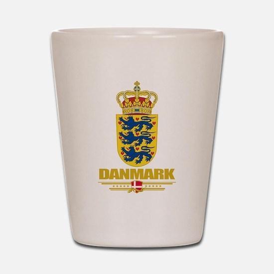 Denmark COA Shot Glass