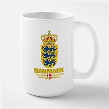 Denmark COA Large Mug