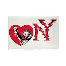 Love NY Rectangle Magnet