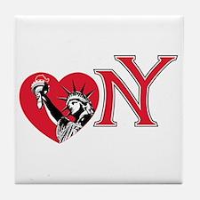Love NY Tile Coaster