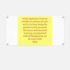 Wisdom of Plato Banner