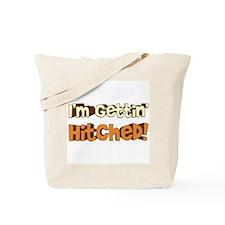 "Retro ""I'm Gettin' Hitched"" Tote Bag"