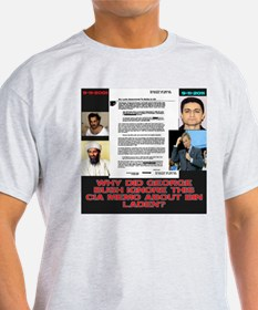 CIA Memo To Bush About Bin Laden T-Shirt