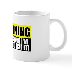 Warning! I Have Gas Mug