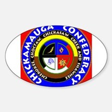 Chickamauga Confederacy Sticker (Oval)