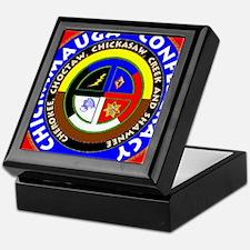 Chickamauga Confederacy Keepsake Box