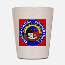 Chickamauga Confederacy Shot Glass
