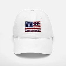 911 Grunge Flag Baseball Baseball Cap