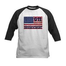 911 Grunge Flag Tee