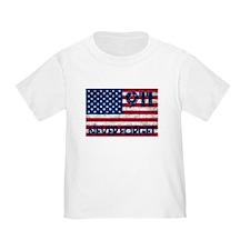 911 Grunge Flag T