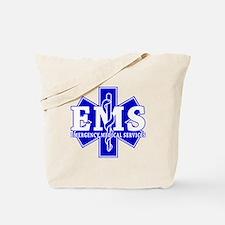 Star of Life EMT - blue Tote Bag