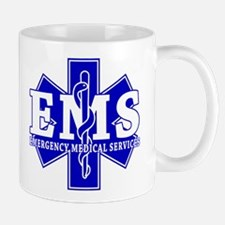 Star of Life EMT - blue Mug