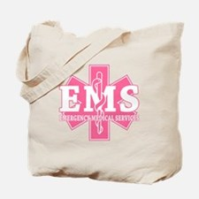 Star of Life EMS (pink) Tote Bag
