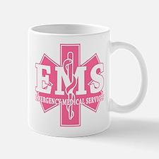 Star of Life EMS (pink) Mug