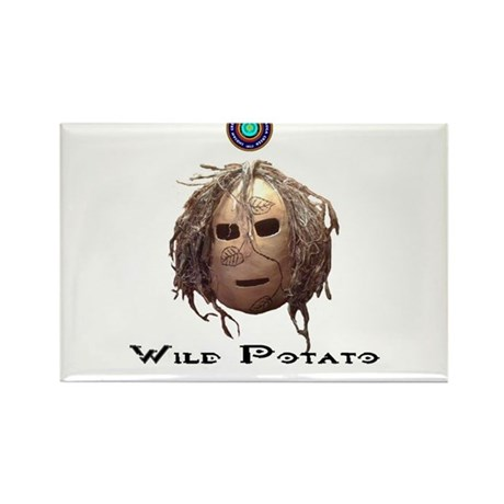 Wild Potato Clan Rectangle Magnet