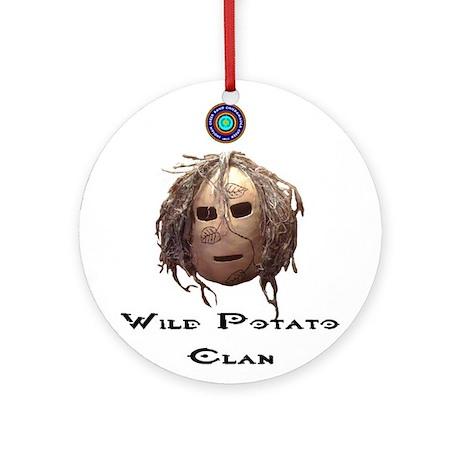 Wild Potato Clan Ornament (Round)
