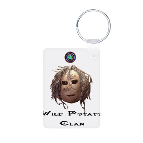 Wild Potato Clan Aluminum Photo Keychain