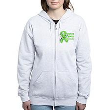 Lymphoma Warrior Zip Hoodie