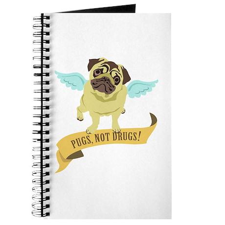 Pugs Not Drugs (Angel) Journal