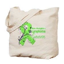 Non-Hodgkins Survivor Tote Bag