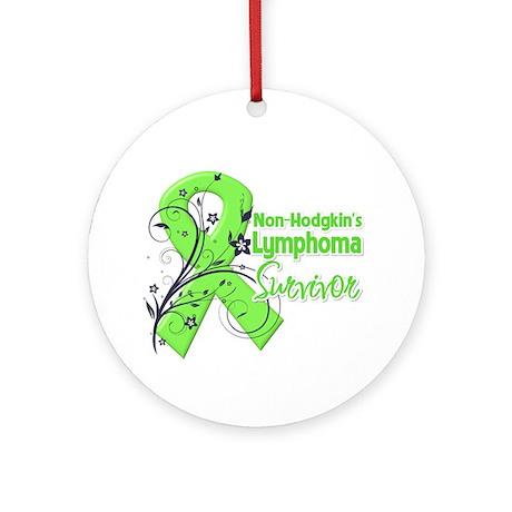 Non-Hodgkins Survivor Ornament (Round)