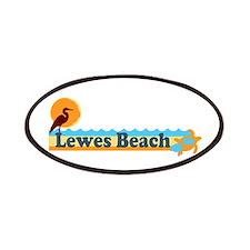 Lewes Beach DE - Beach Design. Patches