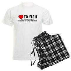 Love To Fish Pajamas