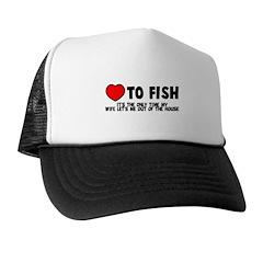 Love To Fish Trucker Hat