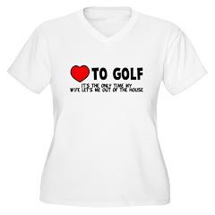 Love To Golf T-Shirt