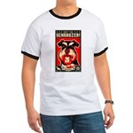 Obey the SCHNAUZER! 2-sided Ringer tee
