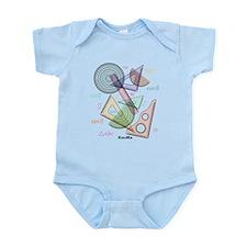 Geometry Infant Bodysuit