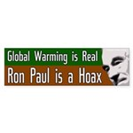 Global Warming is Real. Ron Paul is a Hoax.