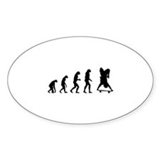 Evolution skate Decal