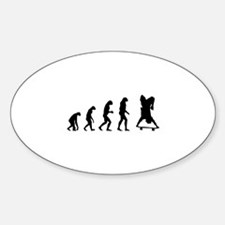 Evolution skate Decal