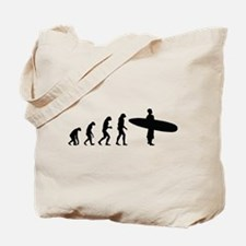 Evolution surfing Tote Bag