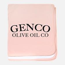 Genco Olive Oil baby blanket