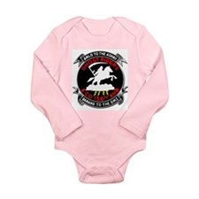 Cute Popsicle Long Sleeve Infant Bodysuit