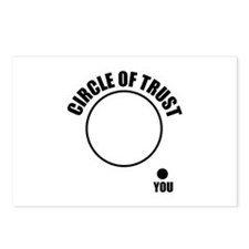 Circle of trust Postcards (Package of 8)