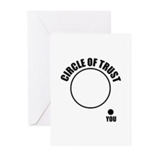 Circle of trust Greeting Cards (Pk of 10)