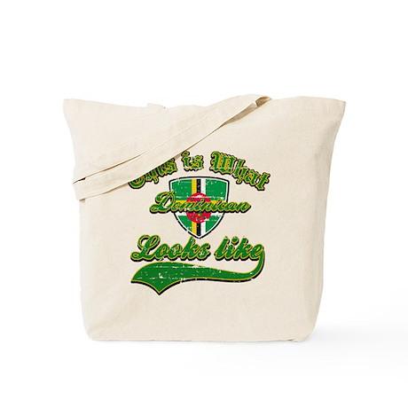 looks like dominican Tote Bag