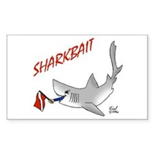 Sharkbait Rectangle Decal
