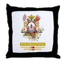 Copenhagen COA Throw Pillow