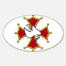 Cathars dove Decal