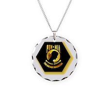 Emblem - POW - MIA Necklace