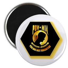 "Emblem - POW - MIA 2.25"" Magnet (100 pack)"
