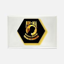 Emblem - POW - MIA Rectangle Magnet (10 pack)