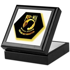 Emblem - POW - MIA Keepsake Box