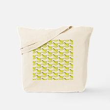 Yellow Bananas Pattern Tote Bag