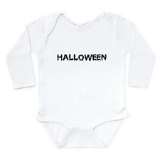 Halloween Long Sleeve Infant Bodysuit