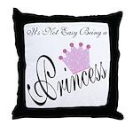 Party Princess Throw Pillow